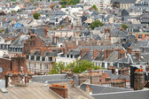 Rooftops of european city — Stock Photo