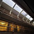 Stock Photo: alcatraz jail cells