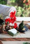 Set for massage — Stock Photo