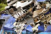 Zničil letadlo — Stock fotografie