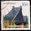 Royalty-Free Stock Photo: Stamp showing the bridge of Dresden
