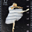 Royalty-Free Stock Photo: Stamp shows American ballet