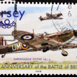 Royalty-Free Stock Photo: Stamp commemorating 60Th anniversary of the battle of Britain
