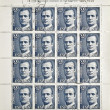 Stamp shows the King of Spain Juan Carlos I — Foto Stock