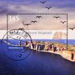 Stamp shows small island of Heligoland — Stock Photo #6904717