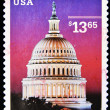 Royalty-Free Stock Photo: Stamp shows Dome of Capitol
