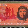 Stock Photo: Stamp shows Ernesto Che Guevara, legendary guerrilla