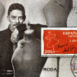 Stamp showing famous Spanish designer Jesús del Pozo — Stock Photo #6904789