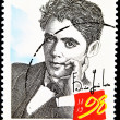 Stamp with Federico García Lorca — Stock Photo