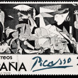 Stamp shows painting by Pablo Picasso Guernica — Stockfoto