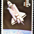 Stamp shows spacecraft — Stock Photo #6904918