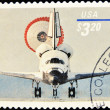 Stamp shows return of spacecraft — Stock Photo #6904925