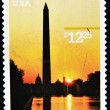 Royalty-Free Stock Photo: Stamp of washington monument