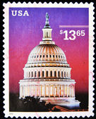 Stamp shows Dome of Capitol — Stock Photo