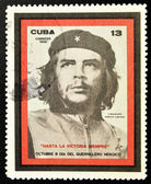 Stamp showing the Che Guevara, Day of the Heroic Guerrilla — Stock fotografie