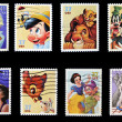 Stock Photo: Disney stamp collection
