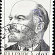 Stamp shows Lenin — Stock Photo