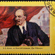 Royalty-Free Stock Photo: Stamp shows Lenin