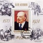 Stamp shows Lenin — Stock Photo