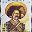 Stock Photo: Stamp commemorates centenary of birth of Pancho Villa