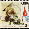 Stamp commemorating Bay of Pigs Invasion — Stock Photo #6988086