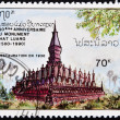 Monument That Luang — Stock Photo