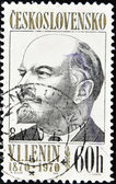 Razítko ukazuje Lenina — Stock fotografie