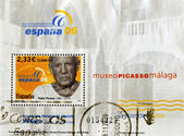 Stamp shows Pablo Picasso — Stock Photo
