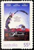 スタンプは、映画のイメージを示しています、砂漠の女王プリシラ — ストック写真