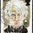 Stock Photo: Stamp shows Dracula