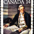 Stamp showing Captain James Cook great explorer — Stock Photo