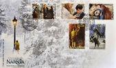 Razítko ukazuje letopisy narnie — Stock fotografie