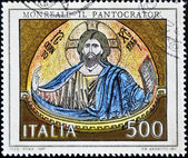 Stamp shows the Pantocrator — Stock Photo