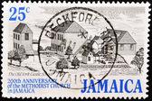 ジャマイカのメソジスト教会の周年記念切手 — ストック写真