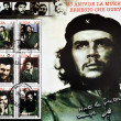 Stamp commemorating the 35th anniversary of the death of Che Guevara — Stock Photo