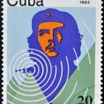 Stamp shows Ernesto Che Guevara - legendary guerrilla — Stock Photo