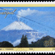 MEXICO - CIRC2007: stamp printed in Mexico shows Popocatepetl volcano, circ2007 — Stock Photo #7201811
