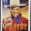 Stamp shows Gene Autry — Stock Photo