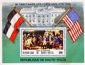 Honoring bicentenary of United States — Stock Photo