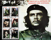 Stamp commemorating the 35th anniversary of the death of Che Guevara — Stok fotoğraf