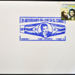 CUBA - CIRCA 1988: A stamp printed in Cuba shows the revolutionaries Che Guevara and Camilo Cienfuegos, circa 1988 - Stockfoto