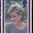 UNITED KINGDOM - CIRCA 1998: British Used Postage Stamp showing Diana, Princess of Wales, circa 1998 - Stockfoto