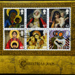 UNITED KINGDOM - CIRCA 2005: A stamp printed in the United Kingdom shows image of Mary and baby Jesus, serie, circa 2005 - Stockfoto