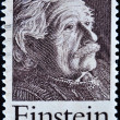 Stamp shows Einstein Portrait — Foto Stock