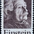 Stamp shows Einstein Portrait — Stok fotoğraf