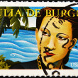 UNITED STATES OF AMERICA - CIRCA 2010: A stamp printed in USA shows Julia de Burgos, circa 2010 - Photo