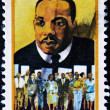 Stamp shows Martin Luther King -  