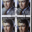 UNITED STATES OF AMERICA - CIRCA 2007: A stamp printed in USA shows James Stewart, circa 2007 - Foto de Stock  