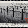 GERMANY- CIRCA 1994: stamp printed in Germany, shows Crosses on a cemetery, circa 1994. - Stockfoto