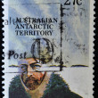 AUSTRALIA - CIRCA 1982: A stamp printed in Australian Antartic Territory dedicated to Sir Douglas Mawson, circa 1982 - Stock Photo